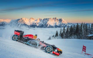 Red Bull facing fine after F1 car snow demonstration