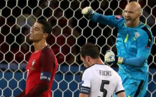 Almer happy as Ronaldo struggles against Austria