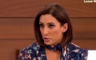 Loose Women star Saira Khan breaks down as she recalls abuse