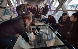 Tower Bridge opens glass floor - with amazing views