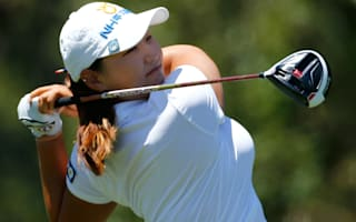 Lee leads U.S. Women's Open