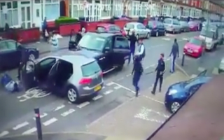 Ultra-violent road rage attack caught on camera
