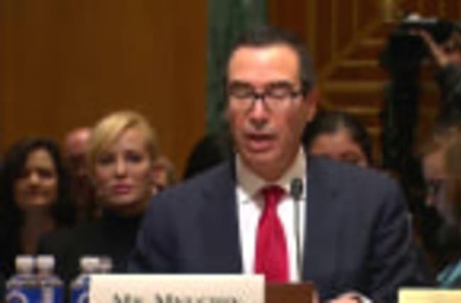 Trump's Treasury pick faces senators