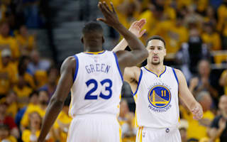 Thompson, Green shine in Curry's absence as Warriors down Trail Blazers
