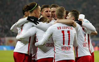 RB Leipzig 2 Hertha Berlin 0: Bayern pushed into second