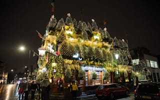Is this the most festive pub in Britain?