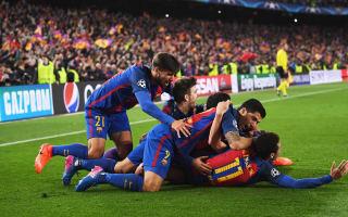 Partying Dortmund watched 'insane' Barcelona comeback - Tuchel