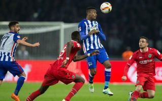 Hertha Berlin 2 Hannover 2: Kalou equaliser rescues hosts
