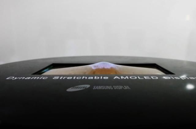 Samsung va a presentar la primera pantalla elástica del mundo