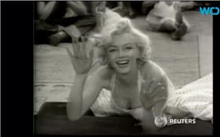 Two locks of Marilyn Monroe's hair to go up for auction
