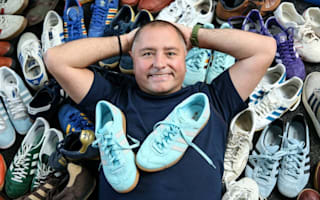 Trainer collection taking over: wife jokes 'It's me or the trainers!'