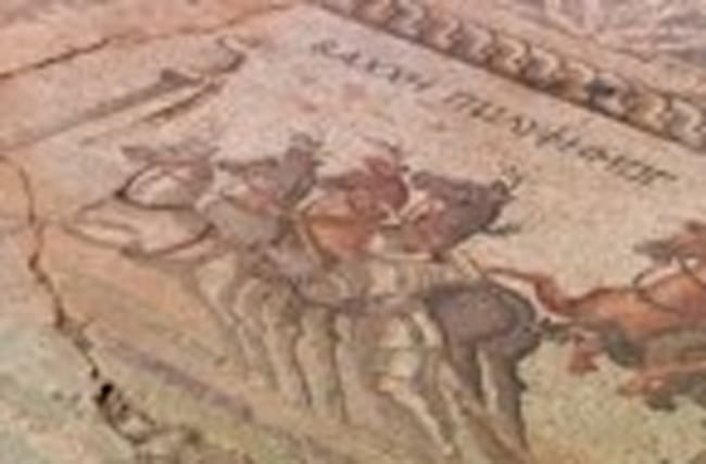 A rare mosaic is unearthed in remote Cyprus