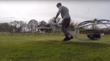 Después de ver este hoverbike casero, tú también querrás hacerte el tuyo