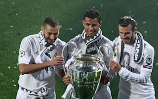 Real Madrid boss Zidane unmoved by Ronaldo, Bale and Benzema questions