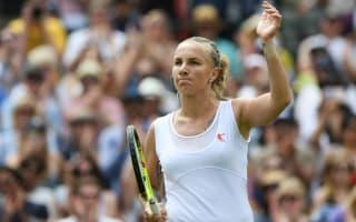 Kuznetsova awaits Serena as several seeds tumble