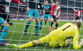 PSV keeper Zoet bemoans Feyenoord's 'f***** up' Hawk-Eye winner