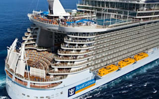 Ten of the biggest cruise ships in the world