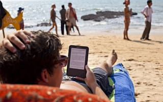 Traditional books replaced by e-readers on holidays