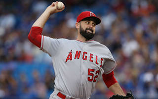 Angels pitcher Shoemaker suffers skull fracture on line drive to head