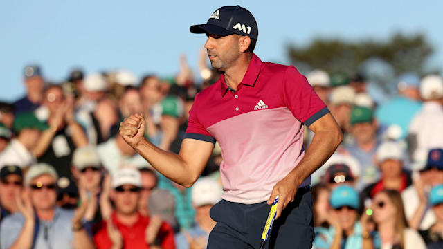 Sergio takes Masters to capture first major
