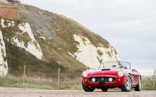 Pristine Ferrari 250 GT California Spyder to go to auction