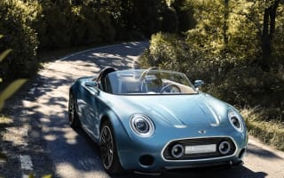 Mini Superleggera Vision concept signals sports car intent