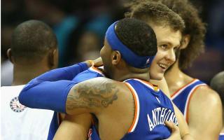 Porzingis urges Knicks to keep Anthony