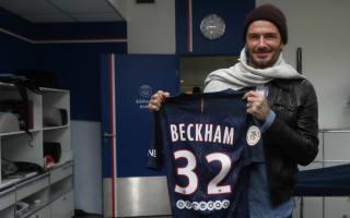 David Beckham returns to PSG