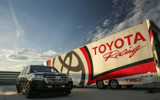 Wild Toyota Land Cruiser hits 230mph in California