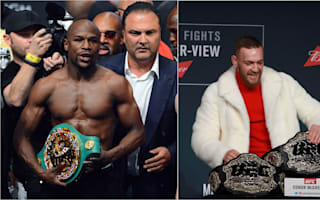 Mayweather says he'd pay McGregor $15m for mega-fight