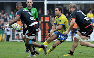 Clermont move to Top 14 summit, Brive beaten again