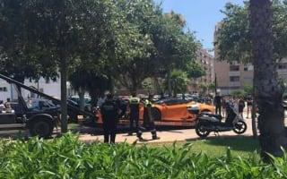 New Chelsea star Batshuayi has Lamborghini towed