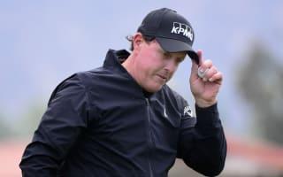 Mickelson revels in 'phenomenal' PGA Tour return
