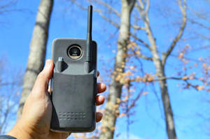 Este Moto Mod convierte tu Moto Z en un walkie-talkie
