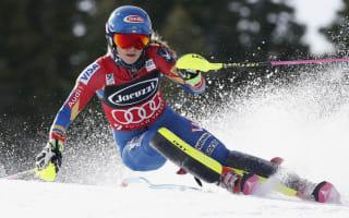 Shiffrin handed slalom title after Velez-Zuzulova crash