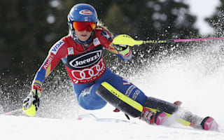 Shiffrin handed slalom title after Velez-Zuzulova crash