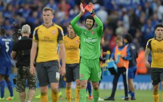 No hiding, Arsenal want the title - Cech