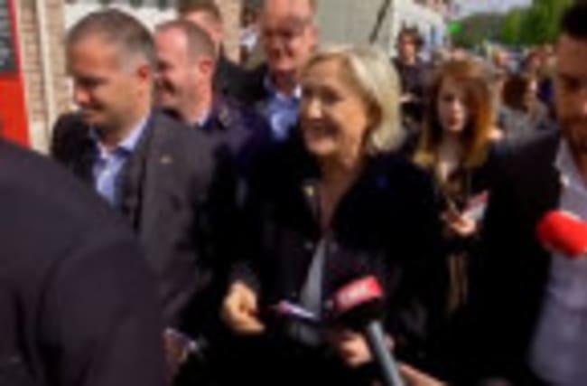 Marine Le Pen criticizes Macron's security policies