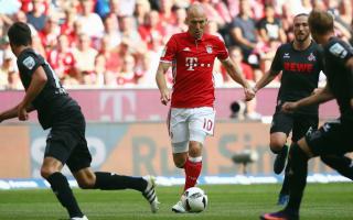 Robben injury nothing serious, says Ancelotti