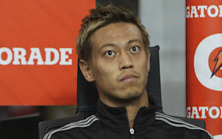 Honda frustrated by AC Milan bench role