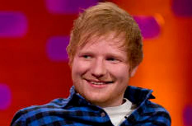 Ed wants to move where?! Singer falls in love with foreign country