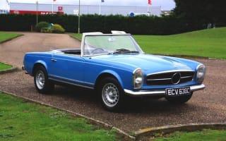 Chris Evans' 1965 Mercedes 230SL up for auction