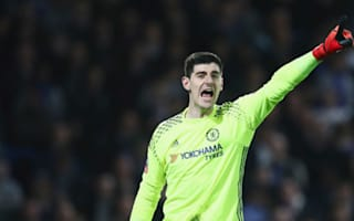 Man Utd bench Ibrahimovic as Courtois misses out for Chelsea