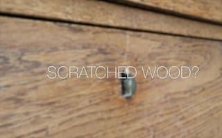 How to remove scratches from wooden furniture