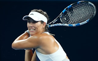 Injury ends Muguruza Brisbane challenge, Bencic dumped out