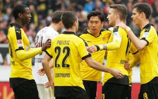 Stuttgart 0 Borussia Dortmund 3: Teenager Pulisic helps keeps faint Bundesliga hopes alive