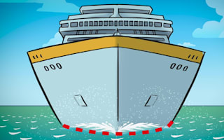How do cruise ships stay afloat?