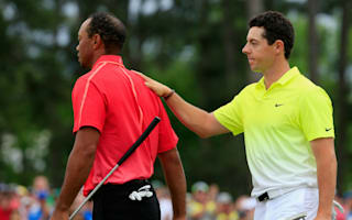 Woods in a good place mentally, says McIlroy