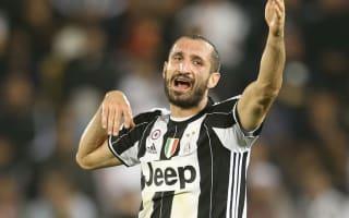 Chiellini hopes Supercoppa loss is a springboard