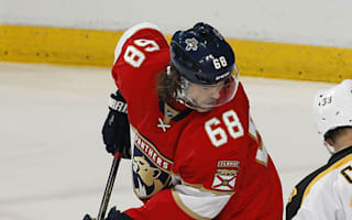 Panthers' Jagr passes Messier for second on NHL points list